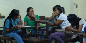 Mocabog CHWs discuss their community concerns
